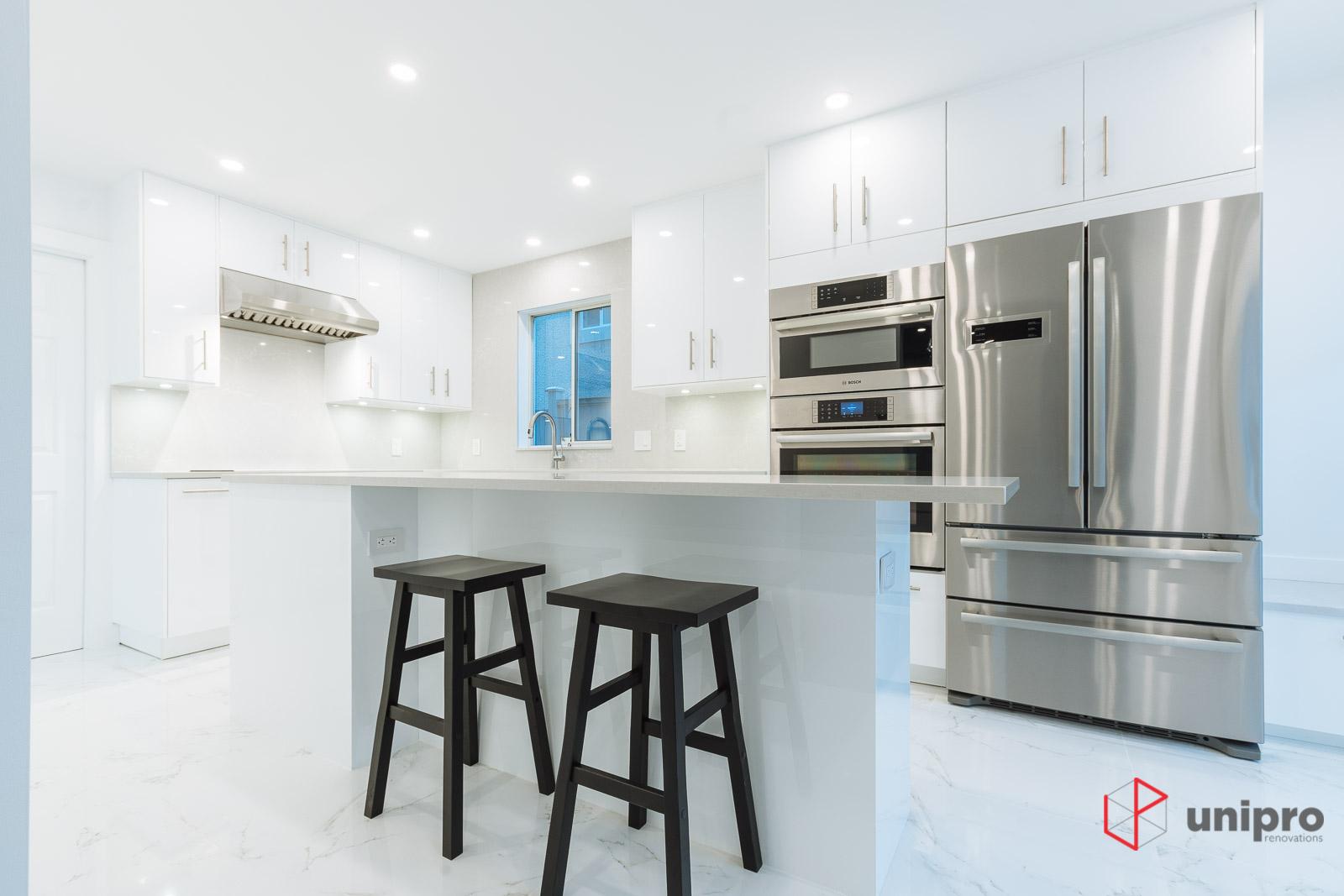 Vancouver West Point Grey Kitchen Renovation – Unipro Renovations